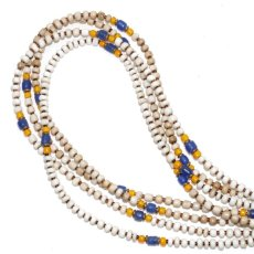 画像1: 【Meltingpot by Lakeman】2way Necklace WHITE Yellow x blue (1)