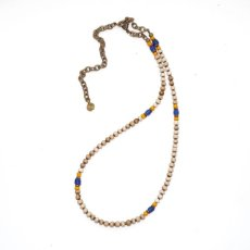 画像2: 【Meltingpot by Lakeman】2way Necklace WHITE Yellow x blue (2)