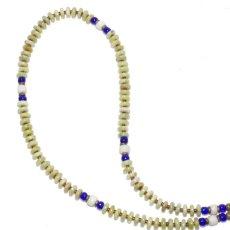 画像1: 【Meltingpot by Lakeman】2way Necklace APPLE GREEN Blue x White (1)