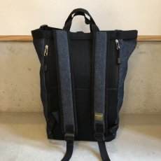 画像15: PHATEE -BLOC SACK- (BLACK DENIM) (15)