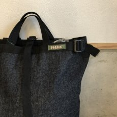 画像2: PHATEE -BLOC SACK- (BLACK DENIM) (2)