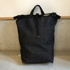 画像1: PHATEE -BLOC SACK- (BLACK DENIM) (1)