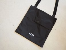 画像1: A.D.A.N NYLON BAG BLACK (1)