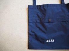 画像1: A.D.A.N NYLON BAG NAVY (1)