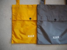 画像1: A.D.A.N NYLON BAG GREY (1)