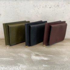 画像2: 【3色展開】-t.L.s- Money clip wallet (2)