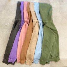 画像2: 【7色展開】-Good On-Pigment Dye  L/S RAGLAN PULLOVER HOOD SWEAT  (2)