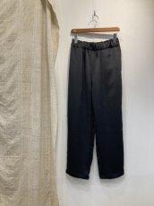 画像4: 【for-Lady's】MANON VINTAGE SATIN EASY PANTS (4)
