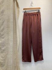 画像2: 【for-Lady's】MANON VINTAGE SATIN EASY PANTS (2)