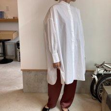 画像6: 【for-Lady's】MANON VINTAGE SATIN EASY PANTS (6)