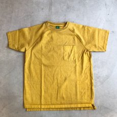 画像4: 【5色展開】-Good On- S/S HEAVY RAGLAN POCKET TEE (4)
