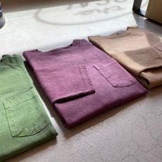 画像3: 【3色展開】-Good On- L/S HEAVY RAGLAN POCKET TEE(Pigment Dye) (3)
