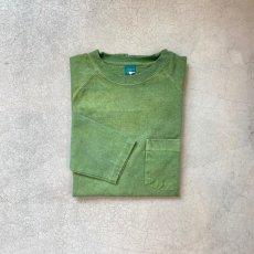 画像9: 【3色展開】-Good On- L/S HEAVY RAGLAN POCKET TEE(Pigment Dye) (9)