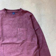 画像5: 【3色展開】-Good On- L/S HEAVY RAGLAN POCKET TEE(Pigment Dye) (5)