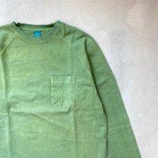 画像6: 【3色展開】-Good On- L/S HEAVY RAGLAN POCKET TEE(Pigment Dye) (6)
