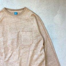 画像4: 【3色展開】-Good On- L/S HEAVY RAGLAN POCKET TEE(Pigment Dye) (4)