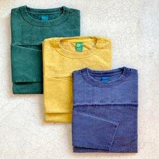 画像1: 【3色展開】-Good On- L/S HEAVY FOOTBALL TEE(Pigment Dye) (1)