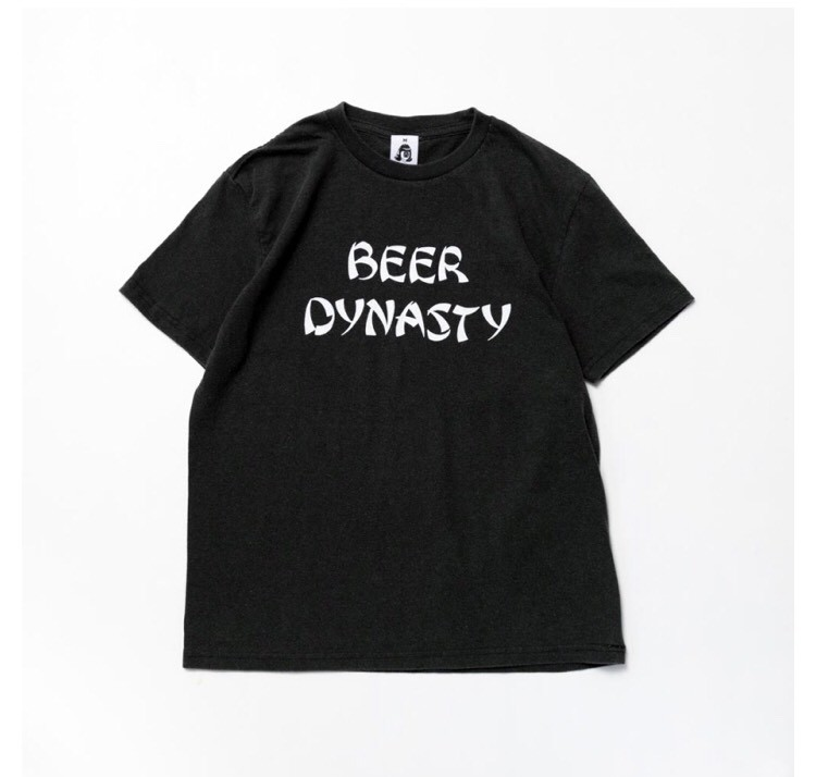 画像1: TACOMAFUJI RECORDS S/S Tee -BEER DYNASTY- BLACK (1)