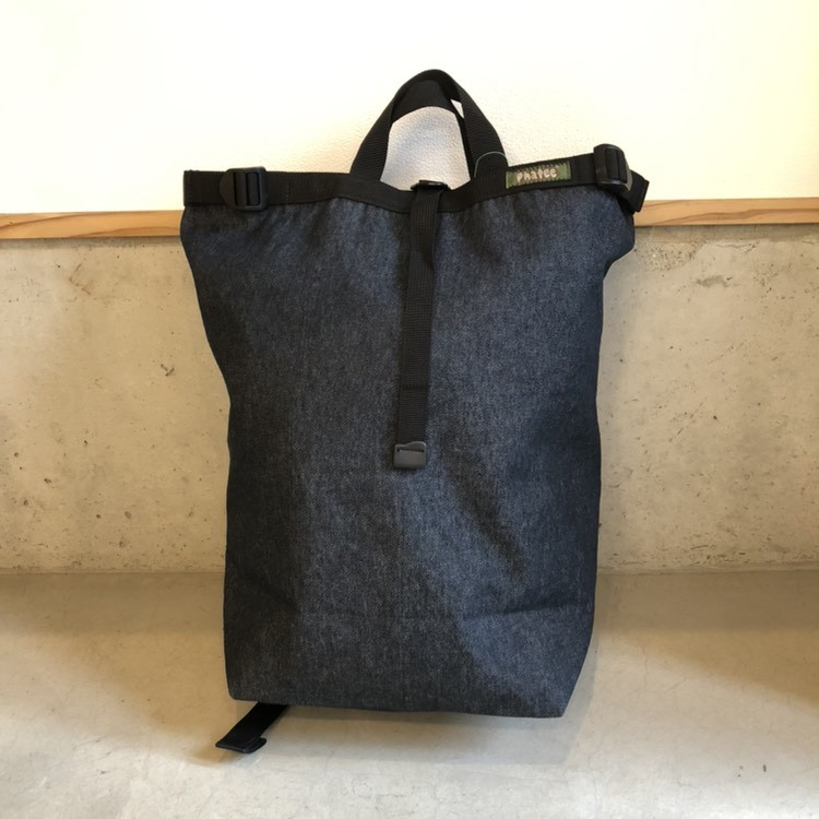 画像1: PHATEE -BLOC SACK- (DENIM) (1)