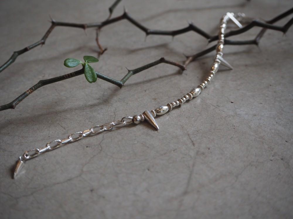 "画像1: 【Silver】Meitingpot by lakeman ""Oni"" Bracelet (1)"
