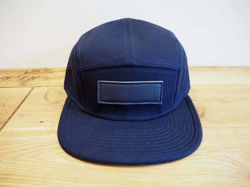 画像1: t.L.s BLANK LOGO CAP (NAVY) (1)