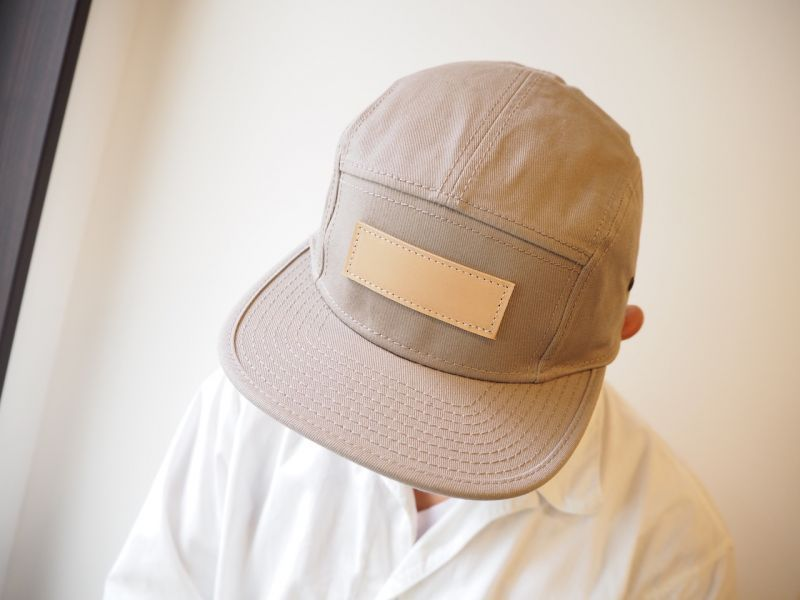 画像1: t.L.s BLANK LOGO CAP (BEIGE) (1)