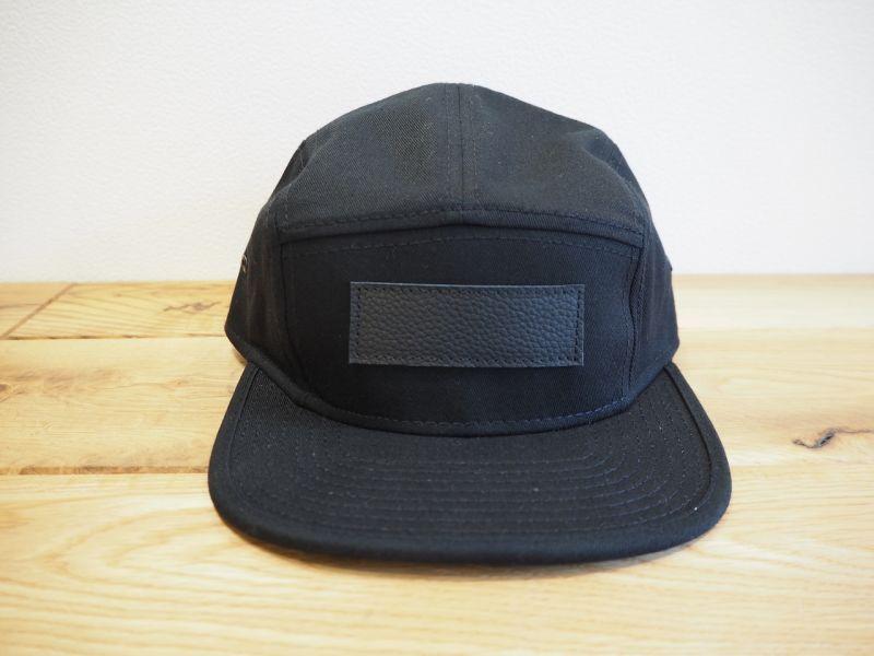 画像1: t.L.s BLANK LOGO CAP (BLACK) (1)
