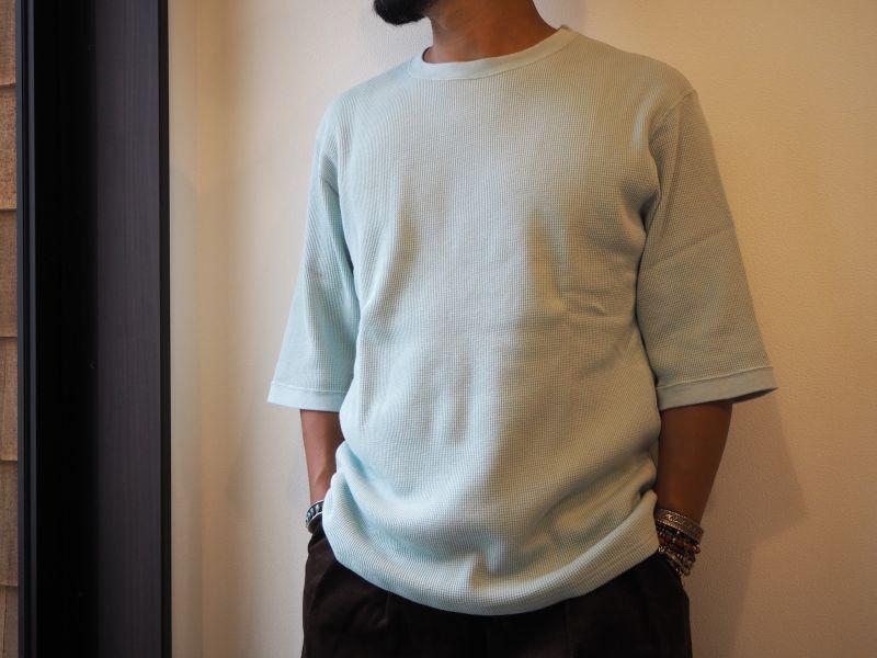 画像1: 着もちいい服 FW FACE M/S THERMAL T-SHIRT (1)