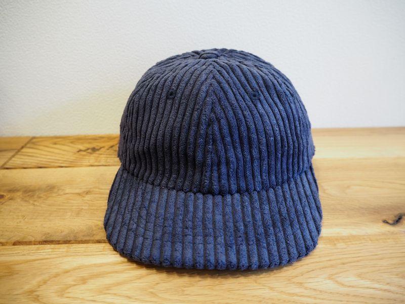 画像1: THE PARK SHOP CORDBOY CAP [NAVY] (1)