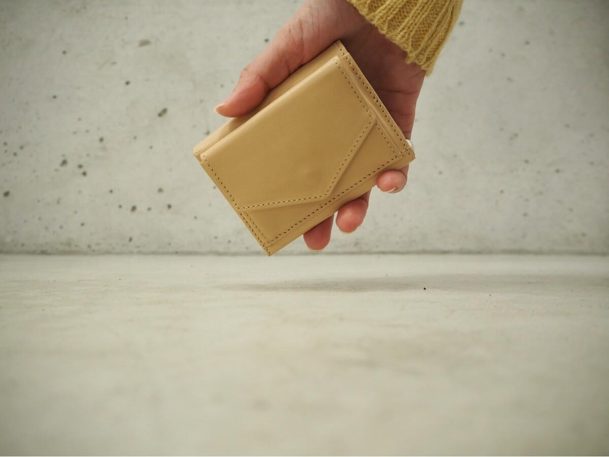 画像1: t.L.s compact wallet(Natural) (1)