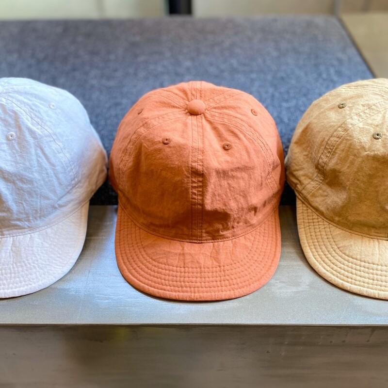 画像1: 【3色展開】-HIGHER-  COTTON LINEN CAP (1)