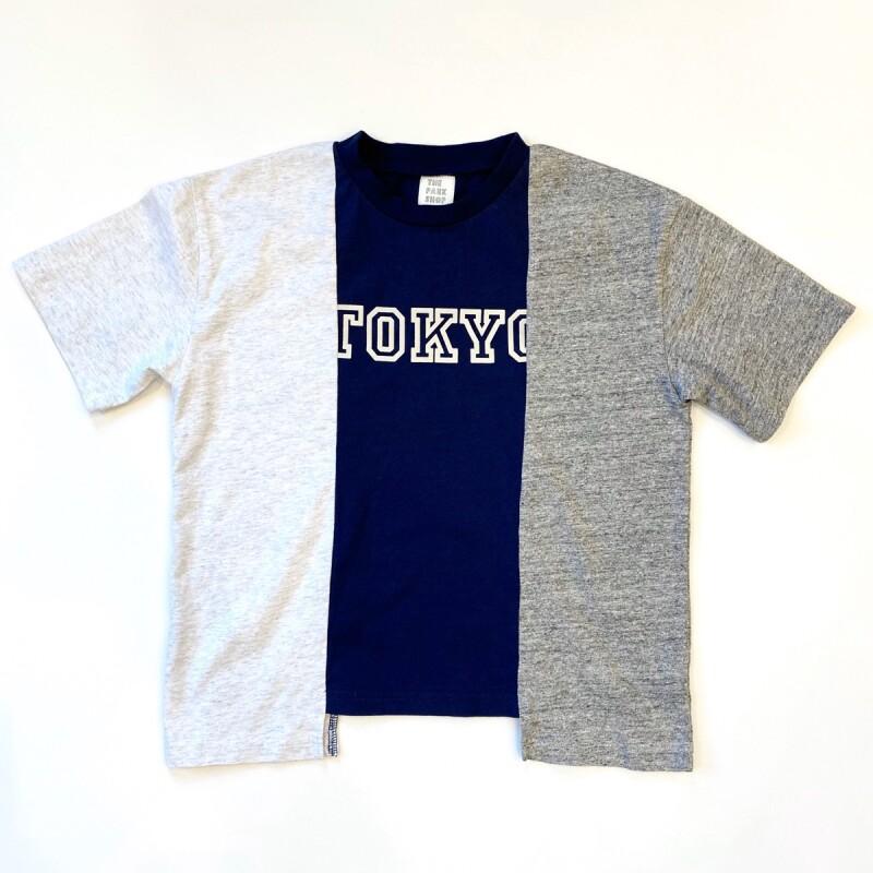 画像1: 【2色展開-for Kid's-】-THE PARK SHOP- broken tokyo tee (MULTI) (1)