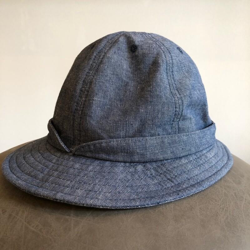 画像1: -HIGHER-  CHAMBRAY SNAIL HAT (1)