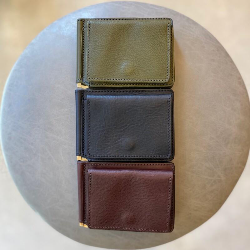 画像1: 【3色展開】-t.L.s- Money clip wallet (1)