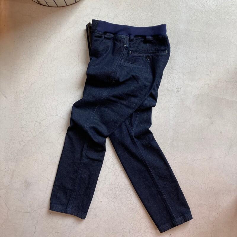 画像1: -GOHEMP/ゴーヘンプ- SLIM RIB PANTS/ONE WASH  (1)