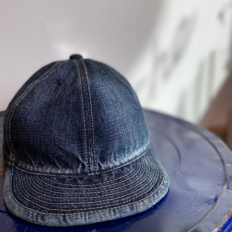 画像1: -HIGHER-  SELVEDGE DENIM CAP USED (1)