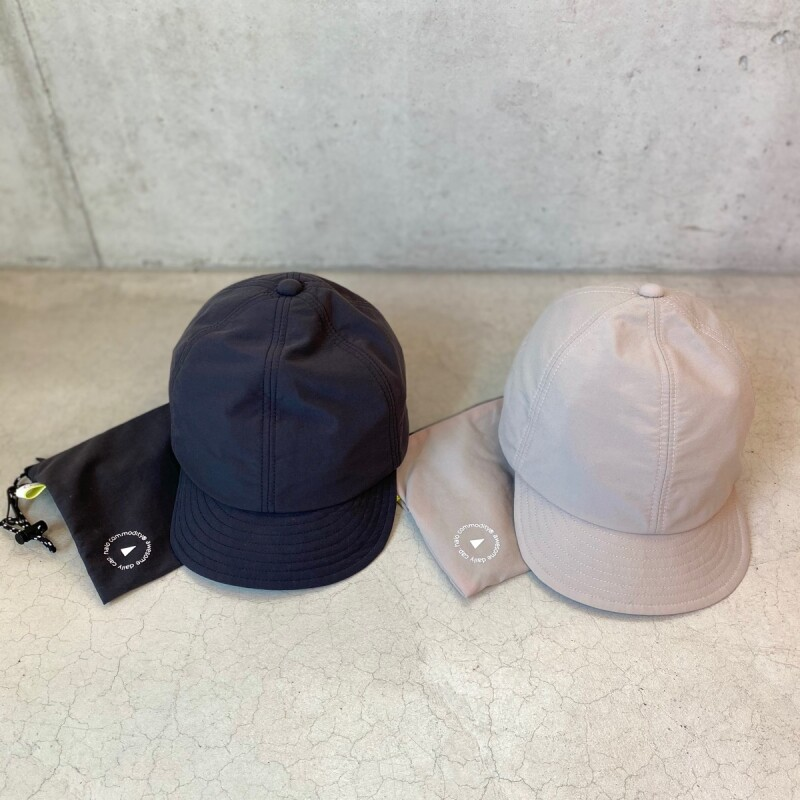 画像1: 【2色展開】halo commodity Smooth Banner Cap (1)