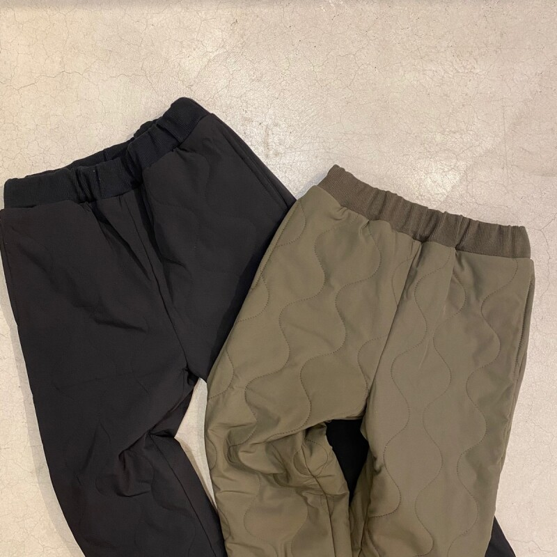 画像1: 【-for Kid's-】-THE PARK SHOP- MILL BOY PANTS(BLACK/KHAKI) (1)