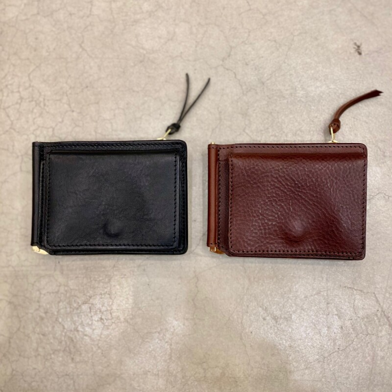 画像1: 【2色展開】-t.L.s- Money clip wallet zip ver.  (1)