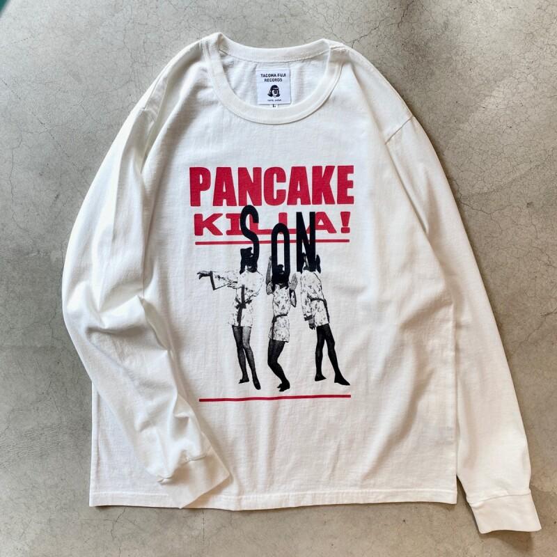 画像1: -TACOMA FUJI  RECORDS- Pancake Killa / son L/S Tee designed by Ryohei kazumi (1)