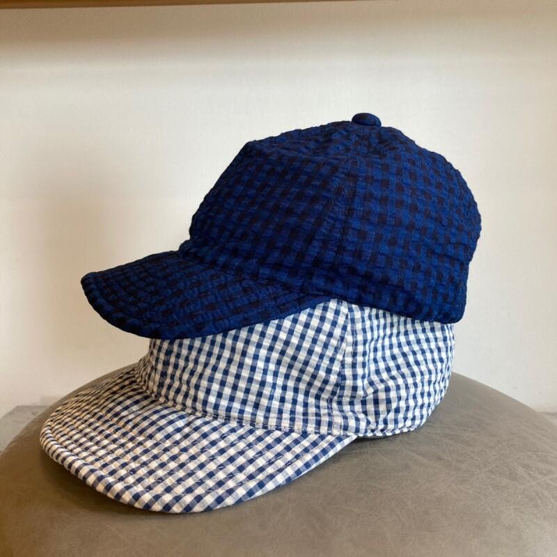 画像1: -HIGHER-  INDIGO SUCKER CAP (1)